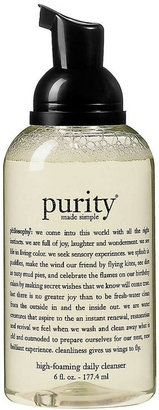 philosophy Purity Made Simple Foaming Cleanser, 6 oz