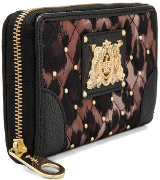 Juicy Couture Ongoing Nylon Quilted/Studded Zip Wallet