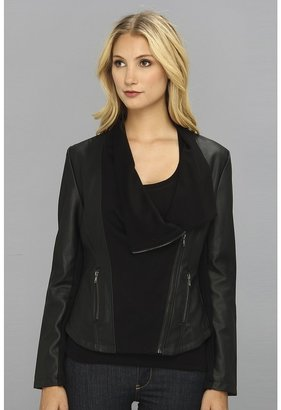 Brigitte Bailey Alyssa Jacket (Black) - Apparel