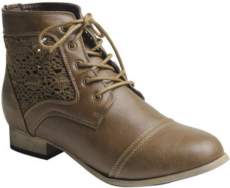 Wet Seal Crochet Inset Boot
