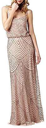 Adrianna Papell Beaded Gown $260 thestylecure.com