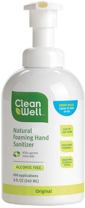 CleanWell Natural Foaming Hand Sanitizer Original