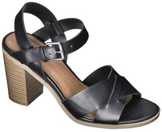 Mossimo Women's Lynde Block Heel Sandals - Assorted Colors