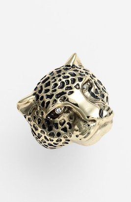 Ariella Collection 'Critters' Panther Ring (Nordstrom Exclusive)