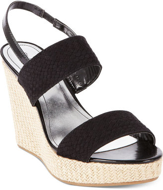 Style&Co. Mary Platform Wedge Sandals