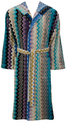 Missoni Home Giacomo Hooded Bathrobe