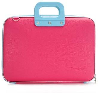 Bombata Bicolor Classic Laptop Case - Pink/Light Blue