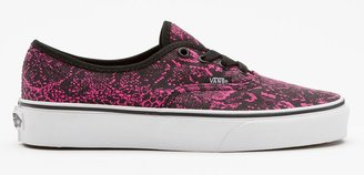 Vans Snake Authentic Womens Shoes
