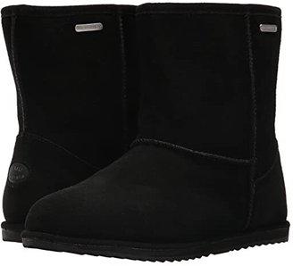 Emu Brumby Lo Waterproof (Toddler/Little Kid/Big Kid) (Black) Kids Shoes