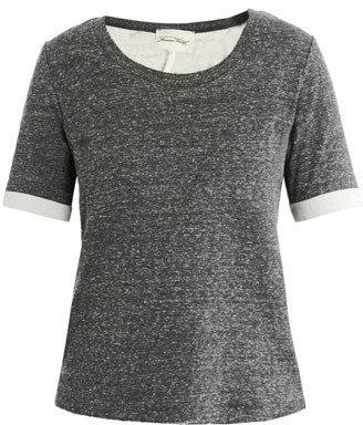 American Vintage Prairie rolled cuff T-shirt