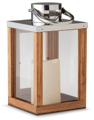 Threshold Wooden Lantern LED Candle
