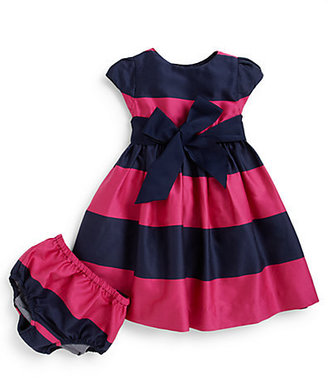 Ralph Lauren Infant's Striped Rugby Dress & Bloomers Set