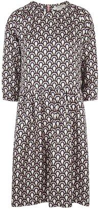 S Max Mara 'S Max Mara Minorca Printed Silk Dress