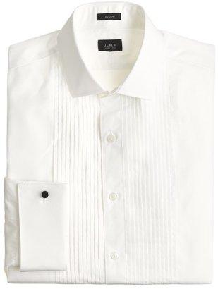 Ludlow pleated tuxedo shirt $108 thestylecure.com