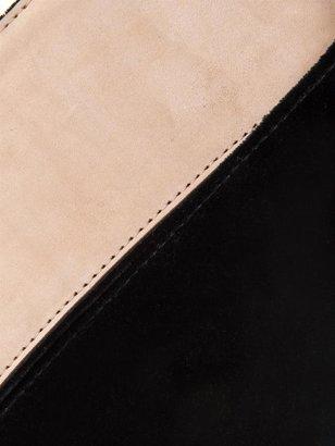 Alexander McQueen Bridle velvet belt