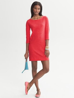 Banana Republic Slub-Knit Cotton Dress