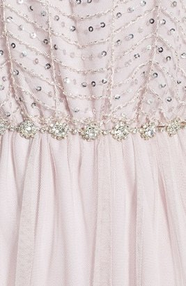 As U Wish Sequin Bodice Ballerina Dress (Juniors)