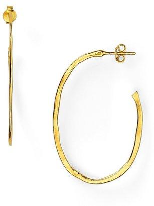 Gorjana 18K Gold Plated Small Laurel Hoop Earrings