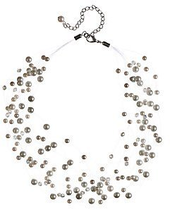 John Lewis Speckled Glass Necklace