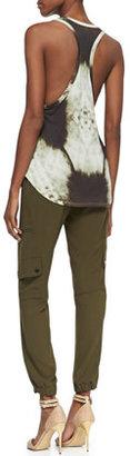 Haute Hippie Easy Drawstring Cargo Pants