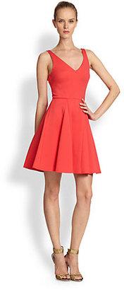 ABS by Allen Schwartz Ponte A-Line Dress