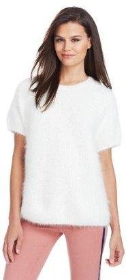 Cynthia Rowley Women's Short Sleeve Textured Sweater
