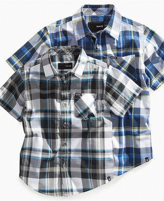 Hurley Shirt, Little Boys Strand Woven