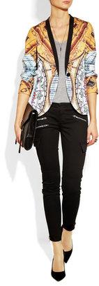 J Brand Brix mid-rise cargo skinny jeans