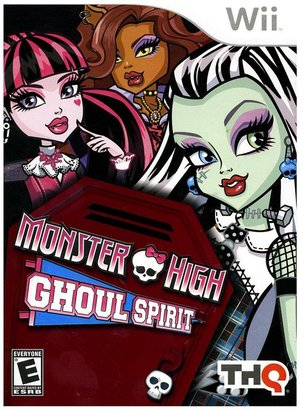 Nintendo Monster high ghoul spirit for wii