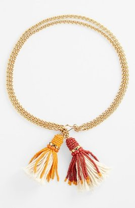 Vince Camuto 'Rope Royalty' Convertible Tassel Necklace