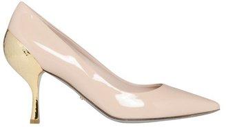 Sergio Rossi Golden Heel Pumps