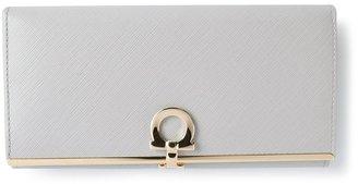 Salvatore Ferragamo fold over purse