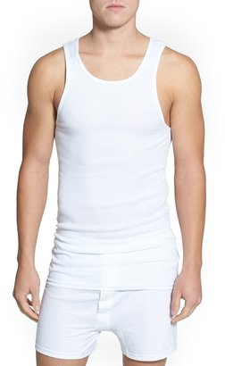 Nordstrom Mens Shop 4-Pack Supima® Cotton Athletic Tanks