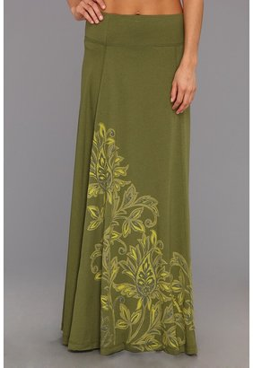 Life is Good Maxi Skirt (Olive Green) - Apparel