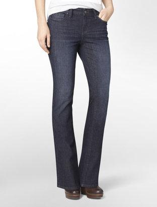 Calvin Klein Faded Sapphire Dark Wash Bootcut Jeans