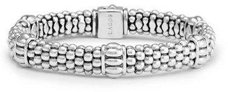 Lagos Caviar Rope-Station Bracelet $395 thestylecure.com