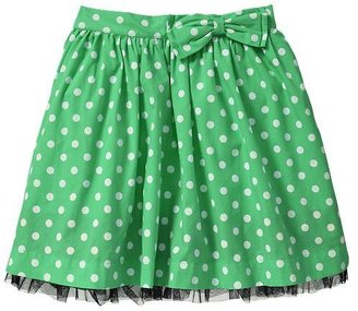 Gap Dot button skirt