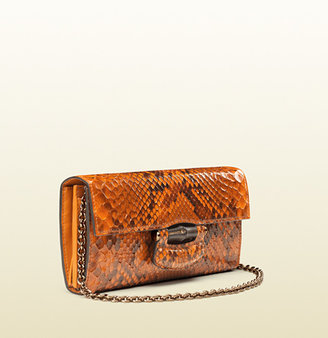 Gucci Nouveau Python Chain Wallet