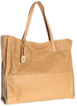 Ivanka Trump Crystal Double Shoulder (Camel) - Bags and Luggage