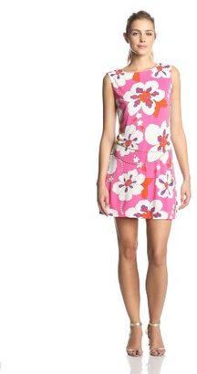 Juicy Couture Women's Mod Magnolia Sleeveless Jersey Dress with Belt