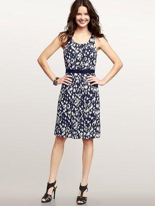 Gap Pleated print dress