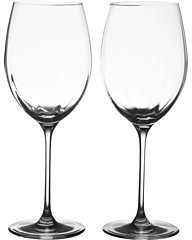 Oneida Aquarius Red Wine - Set of 2