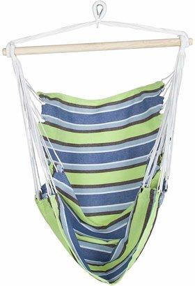 Tropicana Hammocks Collections Hammock Outdoor Sling Chair, Multi Stripe, Autumn Blend