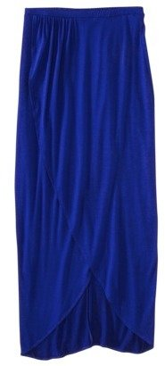 Mossimo Womens Criss Cross Maxi Skirt - Assorted Colors