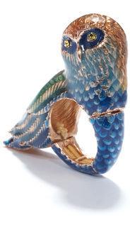 Rachel Roy Owl Cocktail Ring