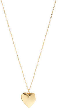 J.Crew Girls' gold heart locket