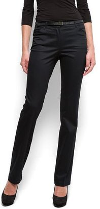 MANGO Straight trousers with belt
