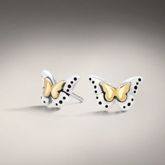 John Hardy CLASSIC CHAIN COLLECTION Baby Butterfly Mini Earrings