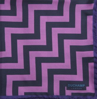 Duchamp Zig Zag Pocket Square