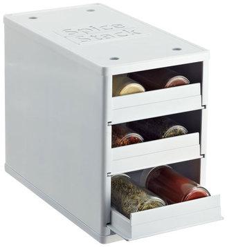 Container Store 12-Bottle Mini SpiceStack® White